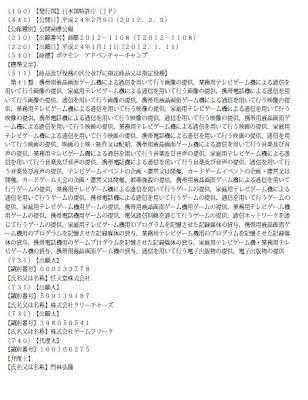 商願 ポケモン アドベンチャーキャンプ