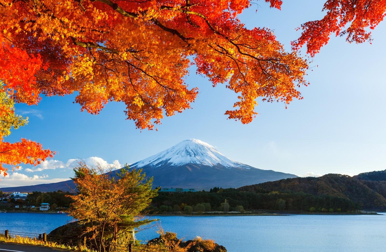 обои на рабочий стол осень япония 15323