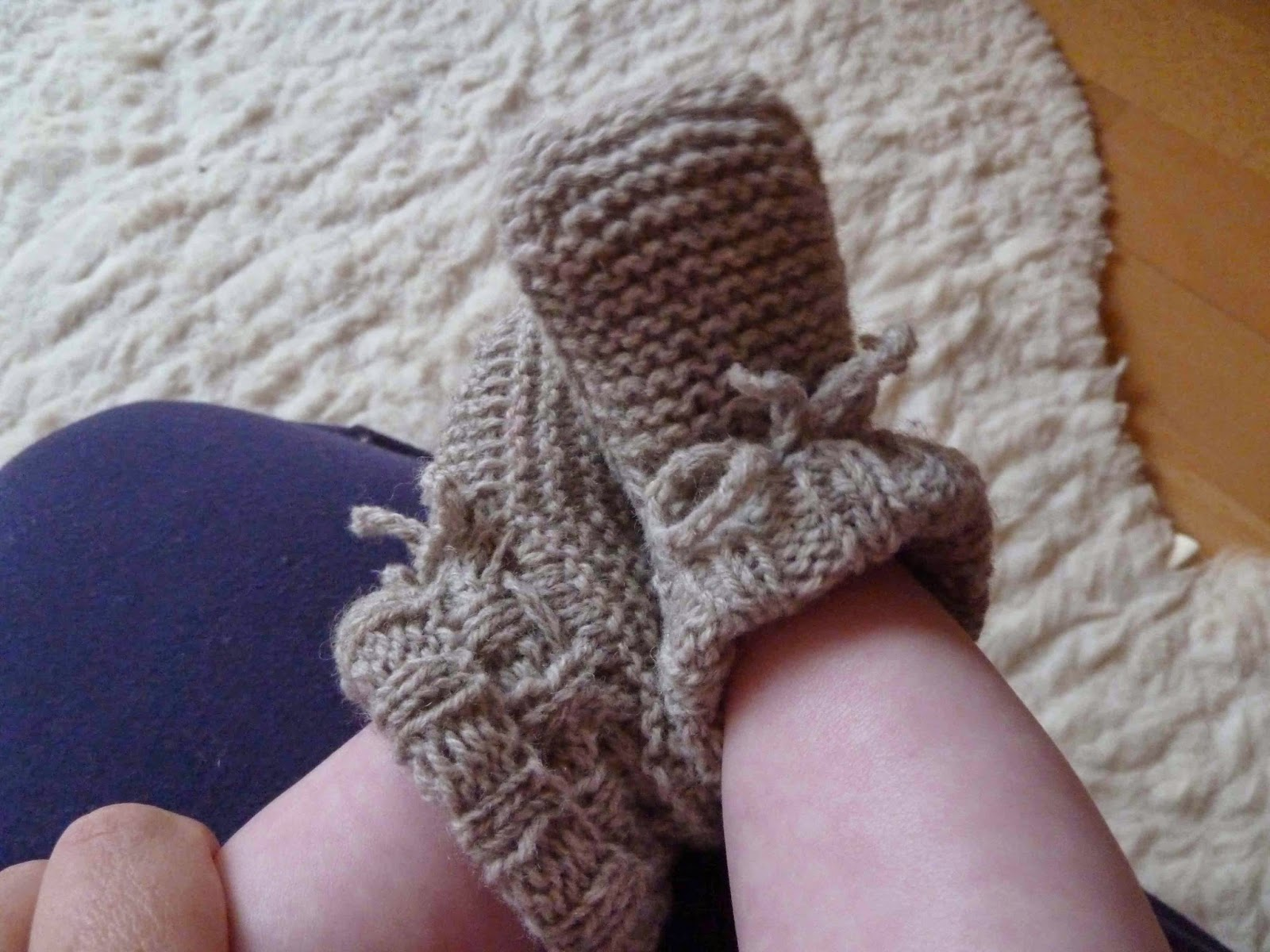 babyschuhe strickmuster, baby booties
