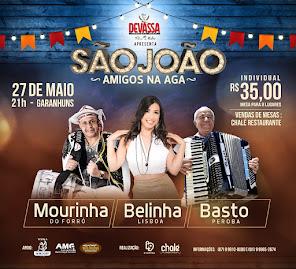 SÃO JOÃO - AMIGOS NA AGA.