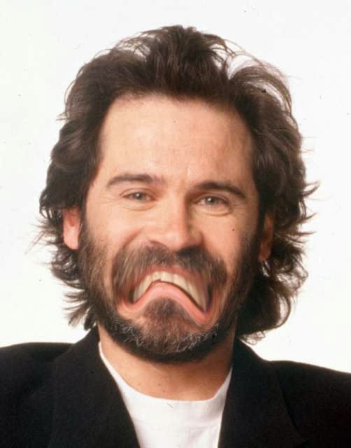 Hi.  I am Dennis Miller and I am utterly forgettable.