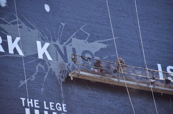 Painting a 150 Foot Tall Batman