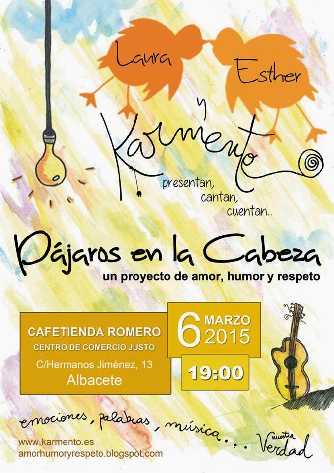Charla concierto en Albacete