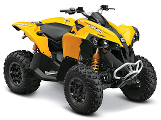 2013 Can-Am Renegade 800R ATV pictures 3