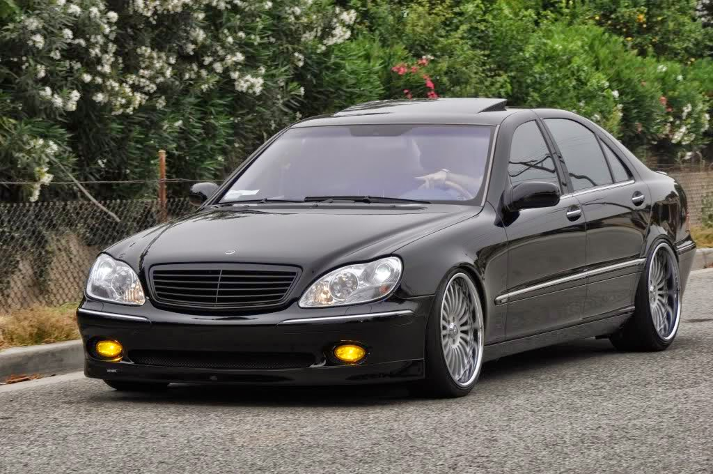 mercedes benz s500 w220 brabus style benztuning. Black Bedroom Furniture Sets. Home Design Ideas