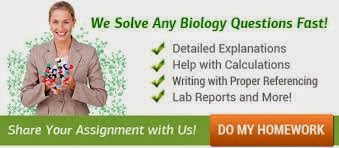 Biology homework help online
