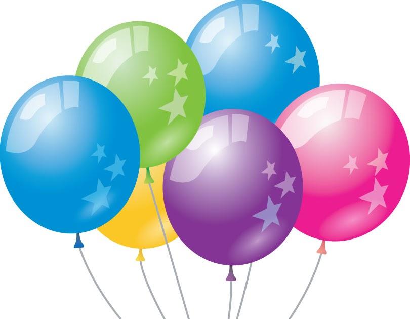 Image clipart ballons anniversaire - Clipart anniversaire gratuit ...