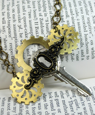 Steampunk Key Pendant