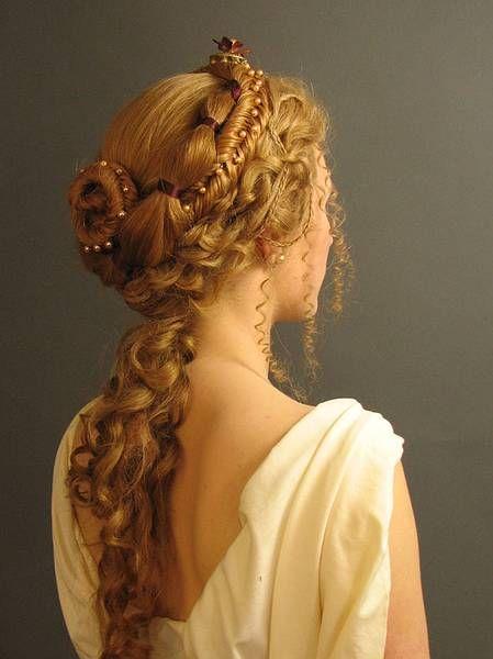 la moda en tu cabello: peinados recogidos estilo griego 2016