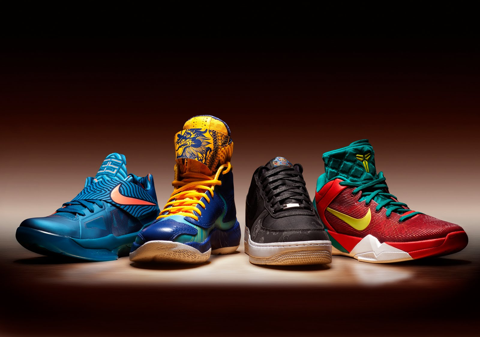 Super Punch: Nike's year of the dragon line