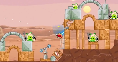 Free Download Angry Birds: Star Wars PC Game Full Version Screenshots 1