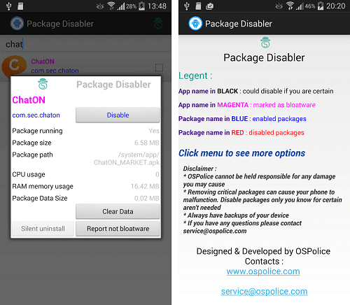 Download Package Disabler Pro APK