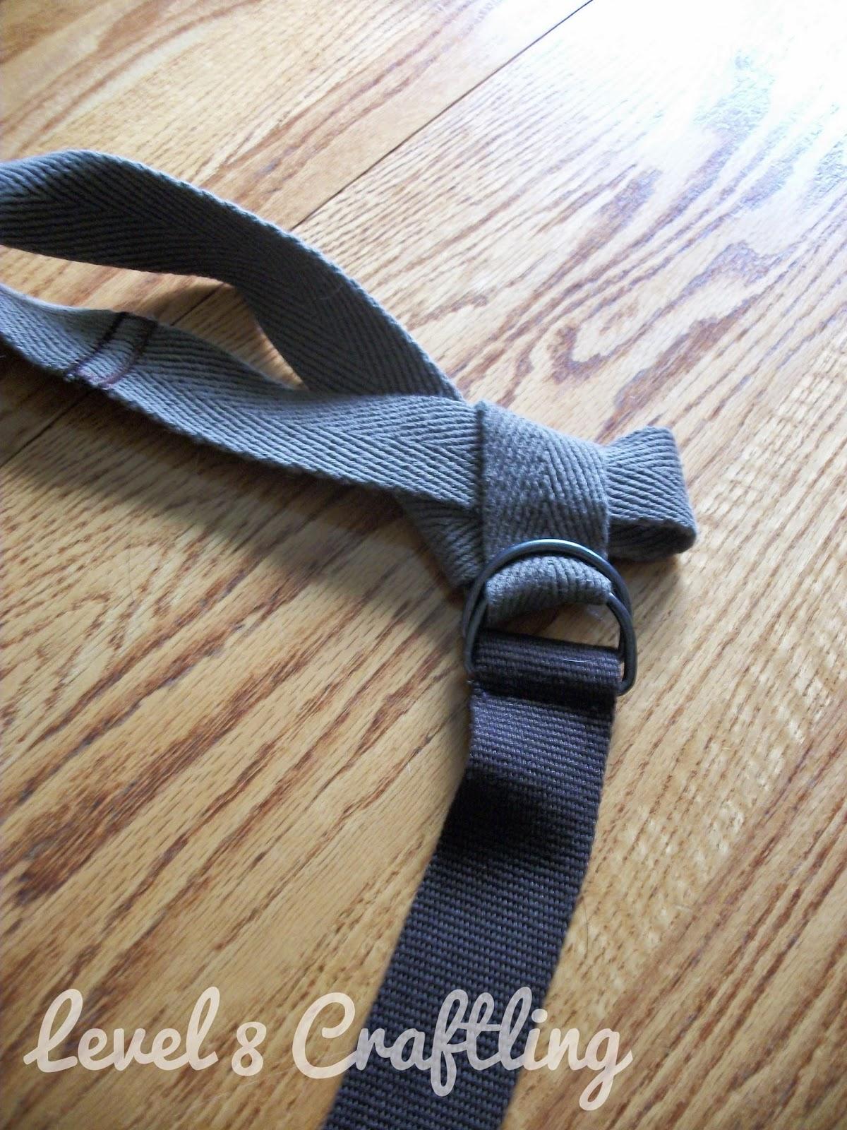 Level 8 Craftling Yoga Mat Holder From Old Pants Strap
