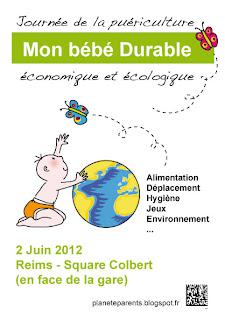 Mon bébé durable, Journée de la puériculture économique et écologique