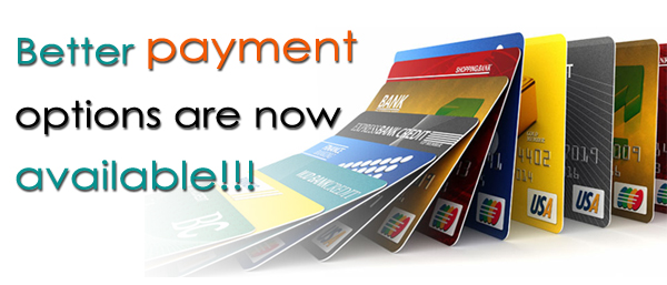 Card payment option