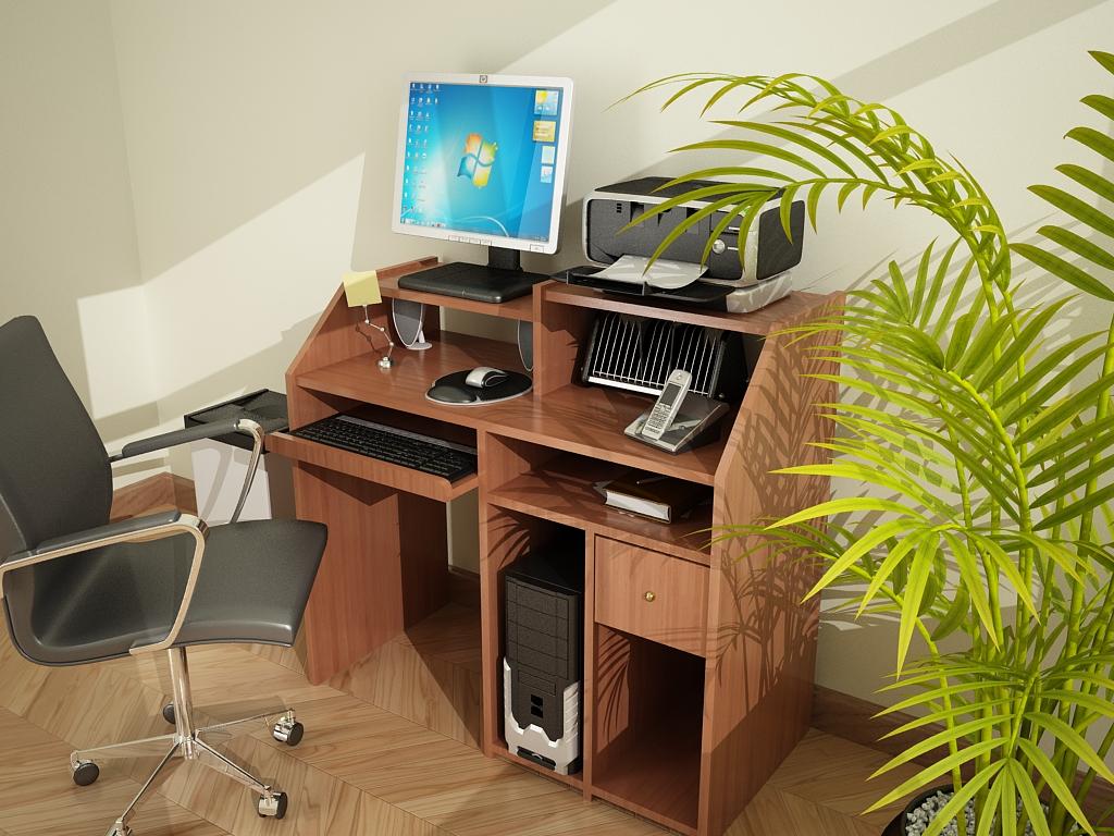 Af Arquitectura Y Mobiliario Mueble Para Pc