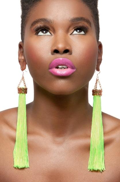 Neon earings