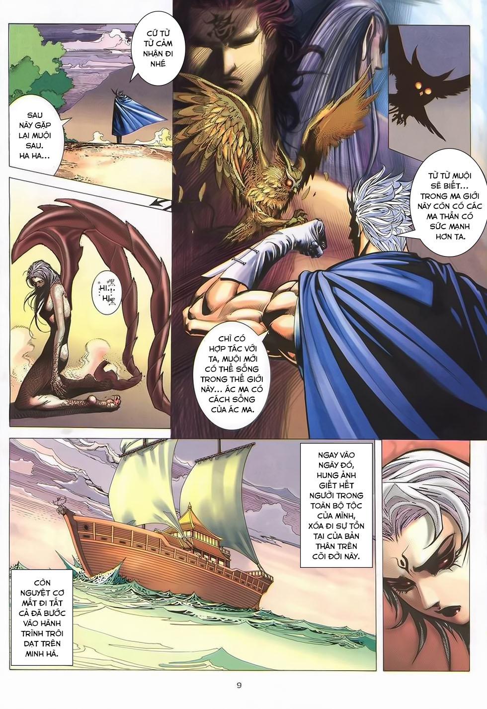 Chiến Thần Ký chap 40 - Trang 10