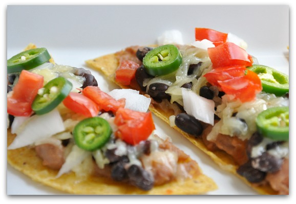 homemade copycat Tijuana Flats Tostadas #Recipe