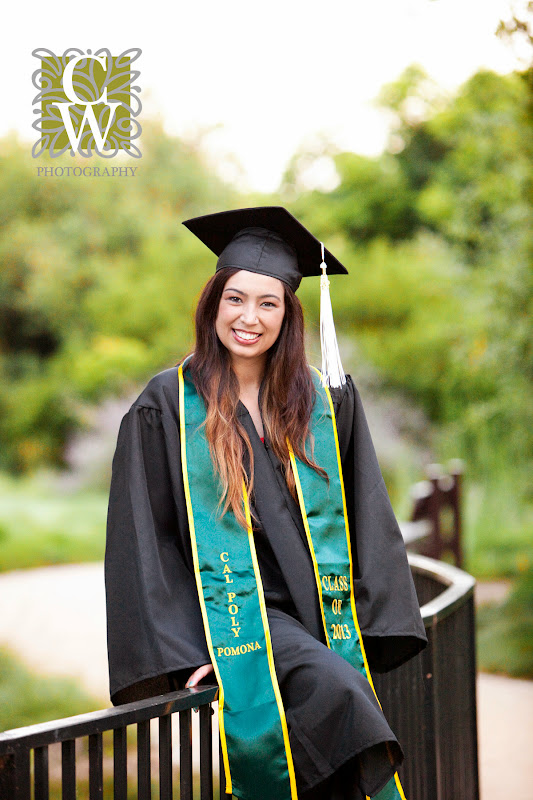 graduation portrait cal poly pomona