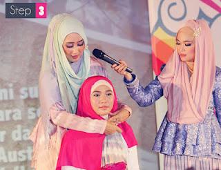 Cara Pakai Jilbab pashmina Modern