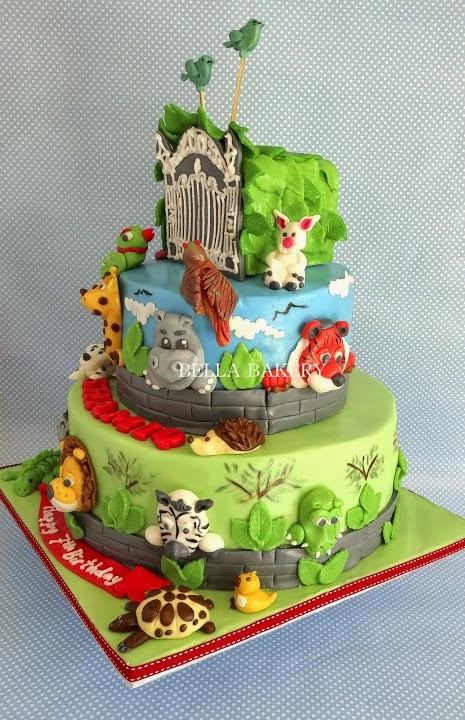 Pin 64 Zoo Lane Cake on Pinterest
