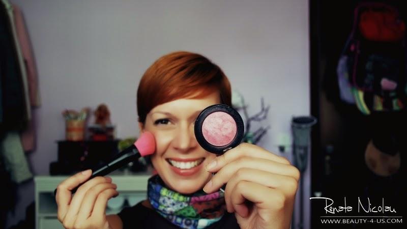 Como aplicar blush rosa