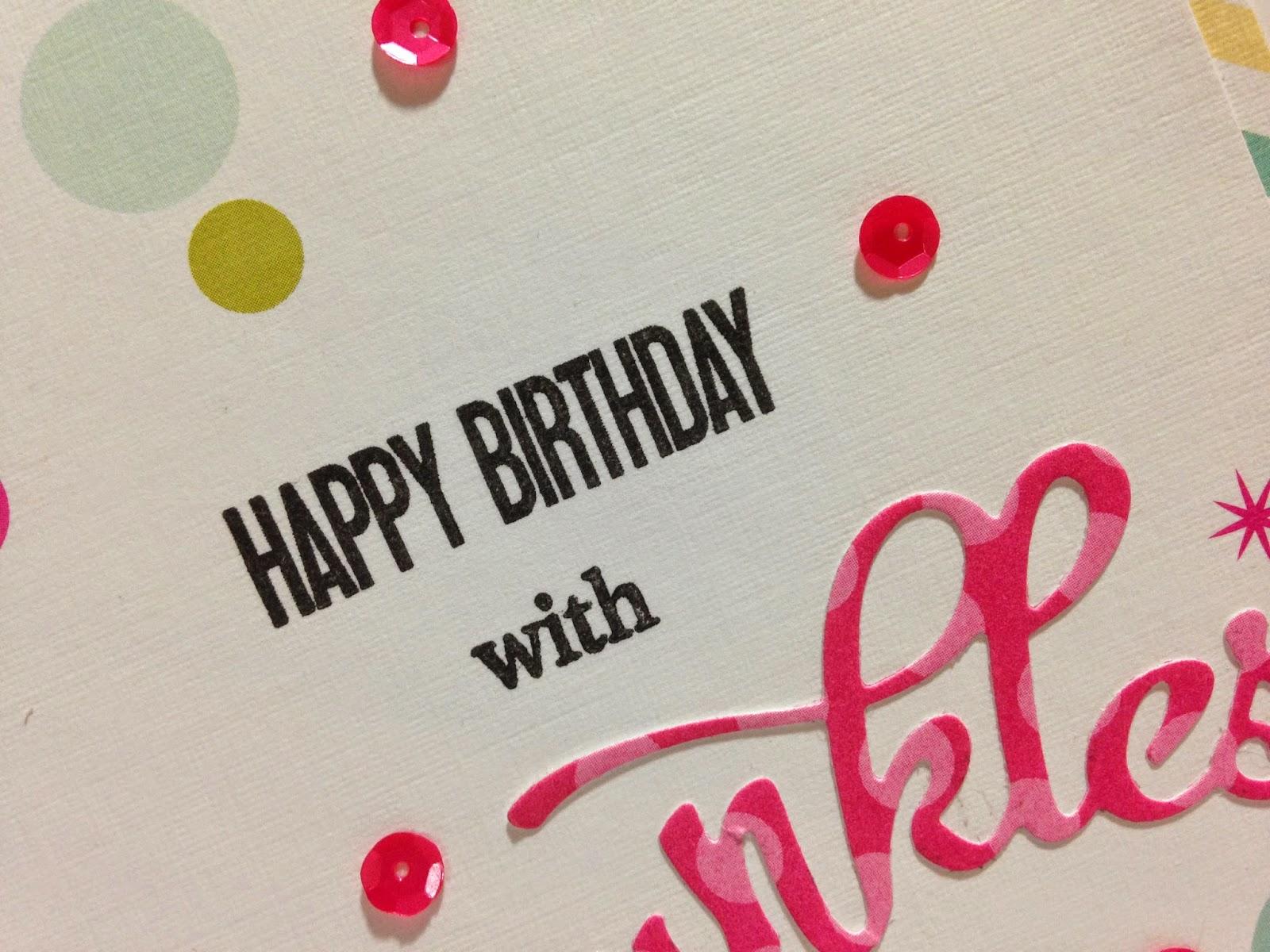 Cupcakes Cards and Kim Happy Birthday Geri