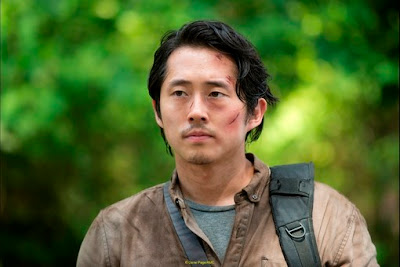 Glenn The Walking Dead Thank You AMC FOX Steven Yeun