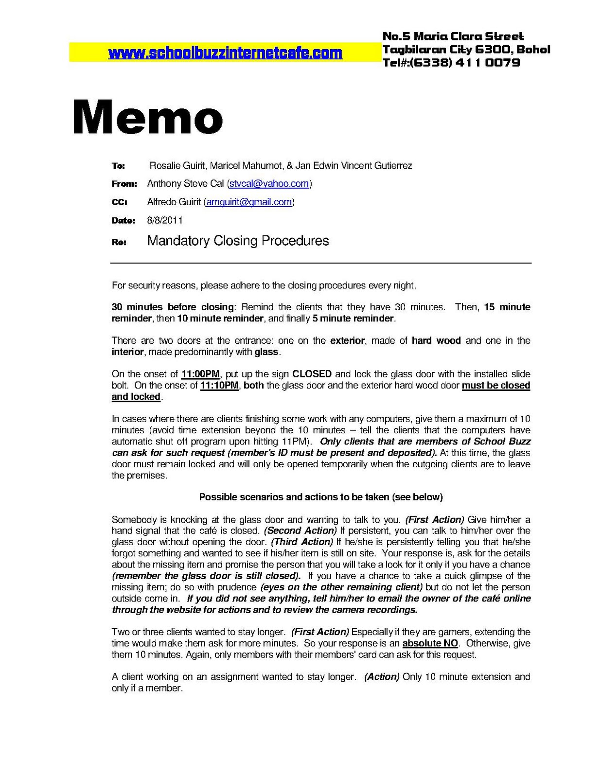 mandatory memo Example 9: trainings memos memorandum to: from: date: subject: product update meetings for retail sales associates attendance at one of the meetings is mandatory for all those who are certified or are seeking certification to dispense drugs to patients.