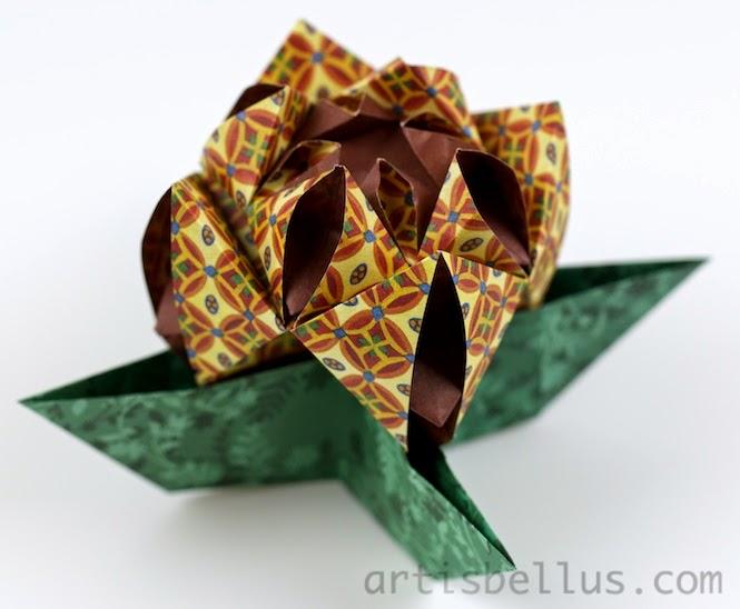 Origami Flower: Modular Flower