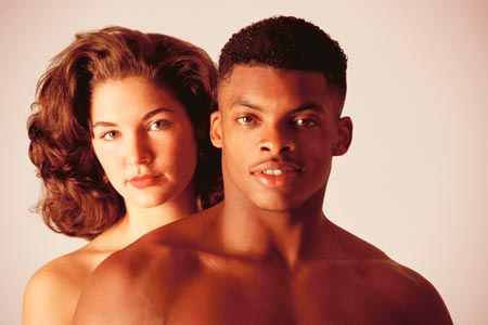 in movies hollywood romance Interracial
