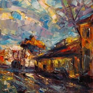Сцены из повседневной жизни. Marta Lipowska