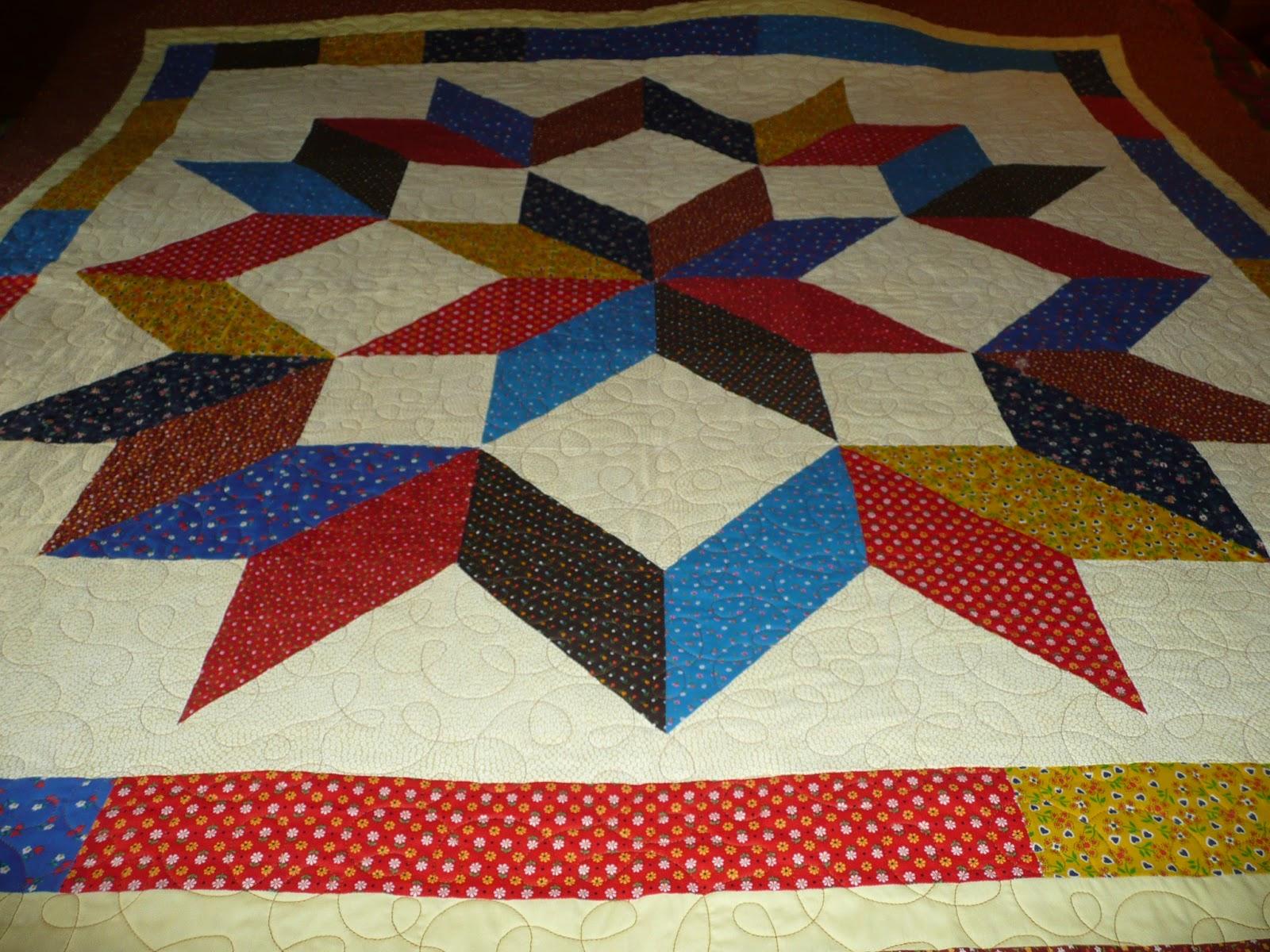 Acorn Ridge Quilting Alyces Carpenter Star Quilt