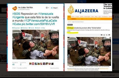 Venezuela: coup de projecteur sur les zones d´ombre médiatiques Chile+VZA