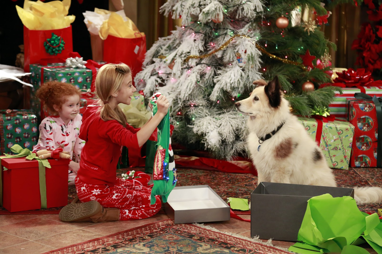 Christmas Dog with a Blog Disney Channel