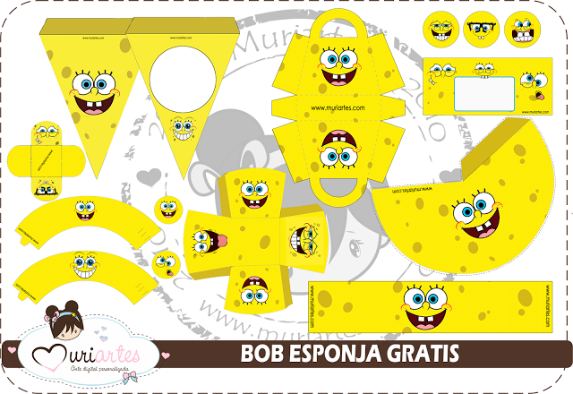 Spongebob Birthday Party Invitations as perfect invitation sample