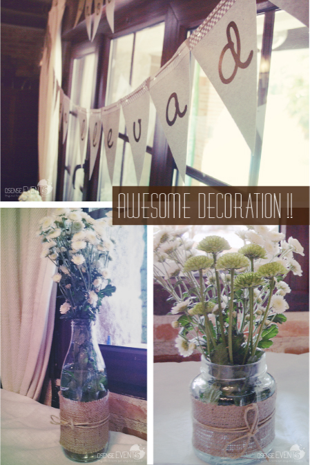 awesome rustic decoration event