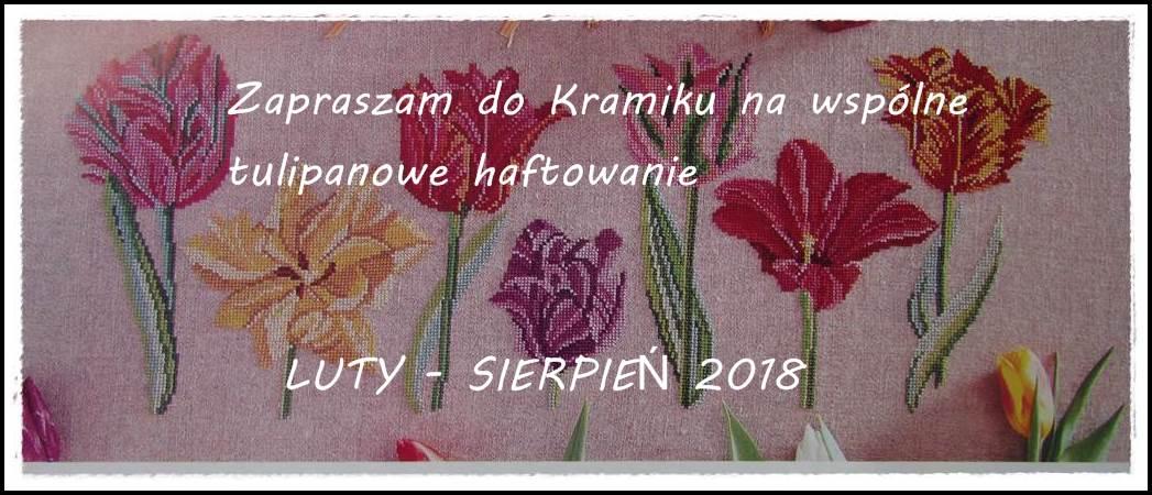 Tulipanowe haftowanie