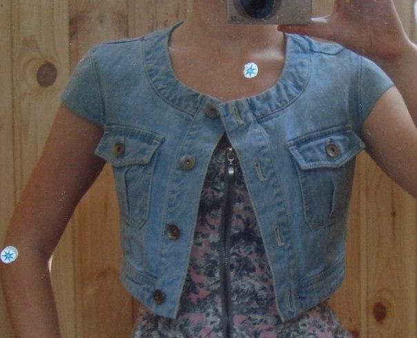 Переделка джинсовых курток своими руками
