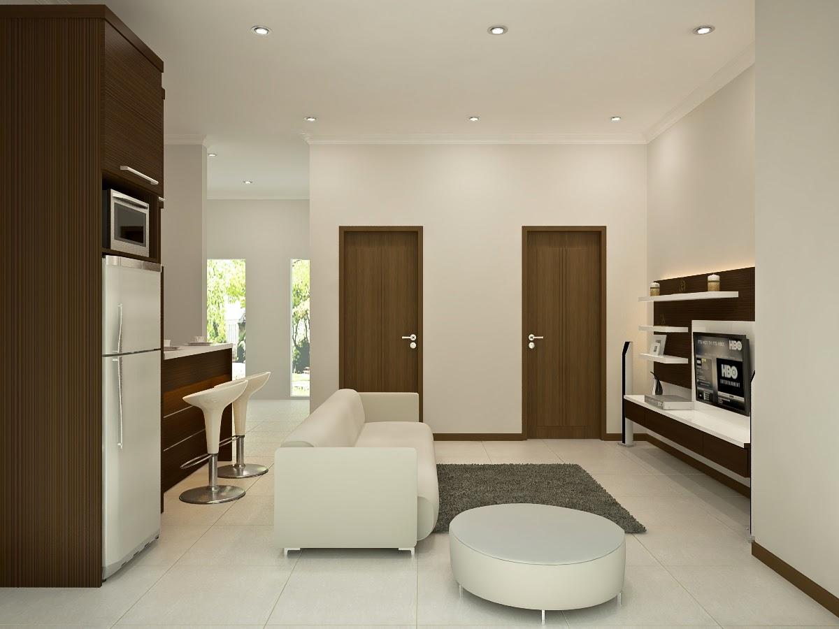 DAPUR BERSIH DENGAN MEJA PANTRI Dian Interior Design