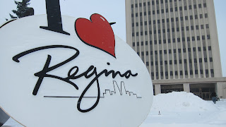 Regina in City Hall Exterior