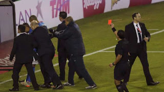 Neymar kartu merah - Copa Amerika 2015 Chili