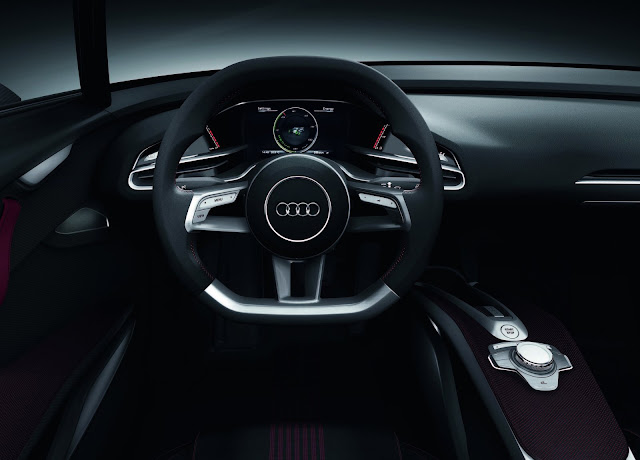 Audi E-tron Spyder interors