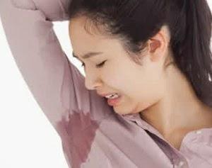 cara mengurangi keringat berlebihan
