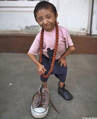 September 7, 2006: World's smallest boy - The Cellar