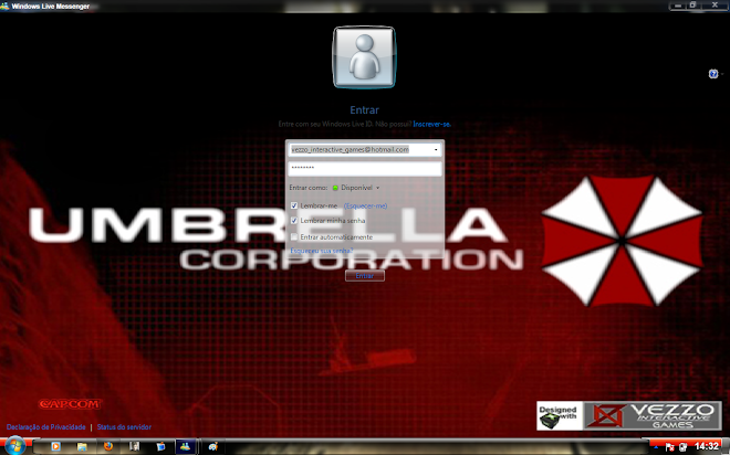 Download Skin-Msn 2009 - Resident Evil - Umbrella Corp.