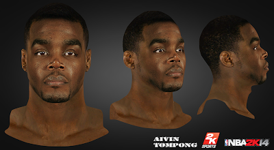 NBA 2K14 Paul Millsap Cyberface Mod