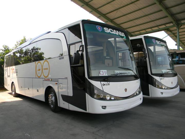 PO Nusantara - New Marcopolo HD by Adi Putro | Scania Bus