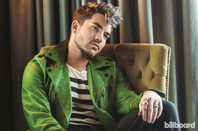 Adam Lambert fala sobre como é viver fora do armário no mundo da música